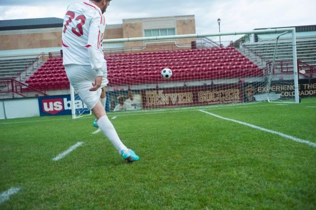 サッカーシュート1